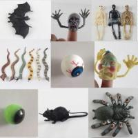 Novelty Halloween Plastic Toys Mouse Spider Plastic Sticky Insect Decoration Toys Manufactures