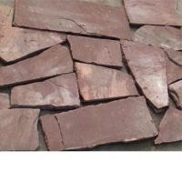 Buy cheap red sandstone random shaped from wholesalers