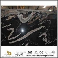 China Australia Black Ice Marble For Kitchen Tile And Table With India Price on sale