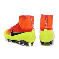 2016 New Style Mens Magista Obra FG-Red-Vert With ACC Purple Hi Top Football Shoes Soccer Boots Manufactures
