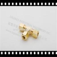 China BRASS COMPRESSION FITTINGS SAE on sale