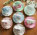 fine bone china tea cups coffee mugs for office daily use Manufactures