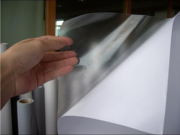 Quality Illuminated Sign Material Product  Clear SAV/Clear Printing Stickers for sale