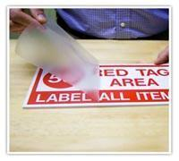 Illuminated Sign Material Product  Application Tape Manufactures