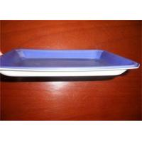 Buy cheap Violet PS Food Grade Plastic Trays For Freezing Meat And Poultry Packaging from wholesalers