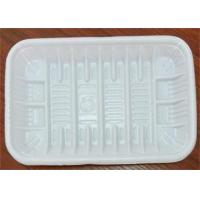 Buy cheap PP Foam Disposable Food Trays , Food Grade Plastic Trays For Food Packaging from wholesalers