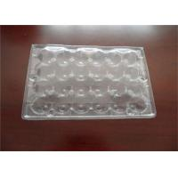 Disposable PET Plastic Quail Egg Cartons Transport Storage Approved Manufactures