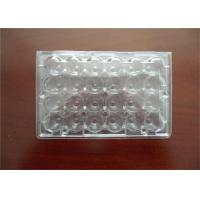 Professional Plastic Quail Egg Trays , Clear Plastic Egg Cartons With Holes Manufactures