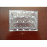Middle Split PE Hard Plastic Egg Cartons Without Cracking And Crashing Manufactures