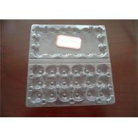 Hatching Clear Egg Cartons Tray With Lid , Egg Tray Plastic For Egg Packaging Manufactures
