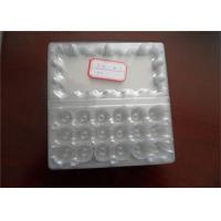 Buy cheap Food Grade Disposable Plastic Egg Boxes 18 Cells Capacity Without Cracking And Crashing from wholesalers
