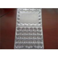 30 Cells Fixed Plastic Quail Eggs Packaging Pulp Moulding Process Type Manufactures