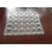 PET PVC Hatching Plastic Quail Egg Trays 30 Holes For Supermarket Storage Manufactures