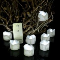Buy cheap Flameless Electric Pillar Votive Battery Powered LED Tea Lights with Remote Control from wholesalers