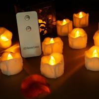 Buy cheap Battery Operated Votive LED Tea Lights with Remote Control from wholesalers