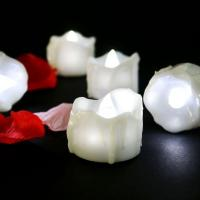 Buy cheap Cool White Battery Operated Candles Valentine's Day White Wedding LED Tealight Candle from wholesalers