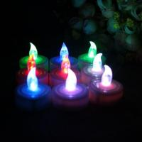 Buy cheap Battery Operated Colored LED Tealight Candles for Party,Votive from wholesalers