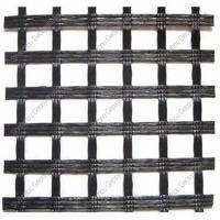 Buy cheap Road Construction Material Fiberglass Asphalt Paved Geogrid Prices from wholesalers
