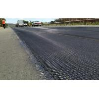 Strengthen Road Surfaces Woven Knitted Fiberglass Geogrid Manufactures