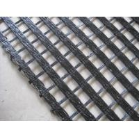 PET Weft and Warp Knitting Woven Geotextile Geogrid with Soil Stabilization