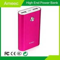 Buy 5V 2.1A Quick Rechargeable battery power bank led emergency light output to mobile AMJ-J302 Manufactures
