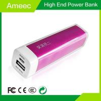Mobile phone 2600mAh Low Cost 18650 Li-ion battery USB Power Bank AMJ-7102 Products Manufactures