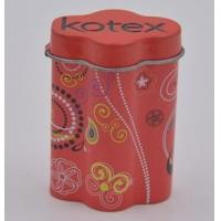 China Cookie tin box Oval tin box on sale