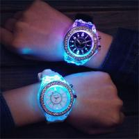 China China Manufacture High End LED Silicone Wristbands Watch for Woman on sale