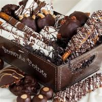Chocolate Confections Gourmet Basket Manufactures