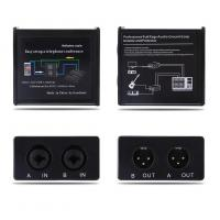 Noise Isolator Professional Full Rage Audio Ground Loop Signal Protector With 3.5-6.35mm Audio Cable Manufactures
