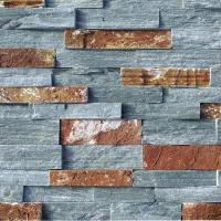 Buy cheap Green Quartzite With Rusty Cultured Stone from wholesalers