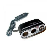 Buy cheap USB(3A)+2way socket Socket charger from wholesalers