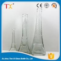 Buy cheap Handicraft bottles Eiffel Tower glass bottle as gift from wholesalers