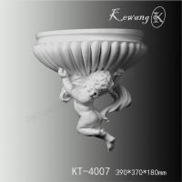 PU wall onlays KT-4007 Polyurethane antique angel decorative angel wall sconces Manufactures