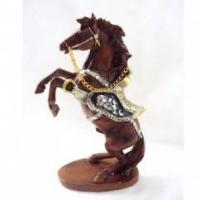 China polyresin horse statues on sale