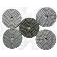 Quality Quadrangle White Diamond Polishing Pad for sale