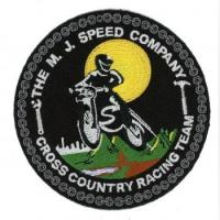 00610237 100% Embroidered Badge With Glow In The Dark Thread - RACING TEAM (00610237) Manufactures