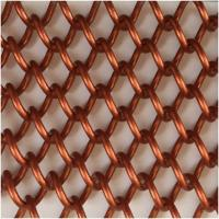 Metal coiled chain curtains Manufactures