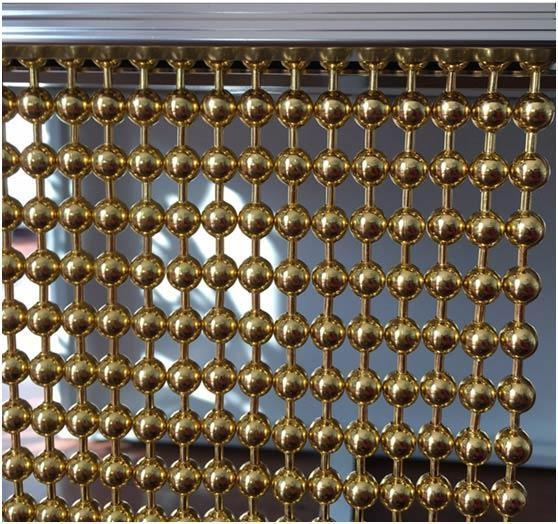 Quality Steel beaded ball chains/curtains for sale