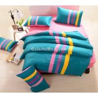 Blue And Pink Teen Bedding Sports Bedding Manufactures