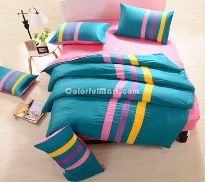 China Blue And Pink Teen Bedding Sports Bedding