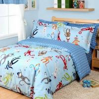 Buy cheap Cartoon Monkey Kids Bedding Sets For Boys from wholesalers