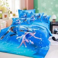 Buy cheap Capricorn Oil Painting Style Zodiac Signs Bedding Set from wholesalers