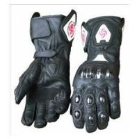 motorcycle/dirt bike full finger leather gloves Manufactures
