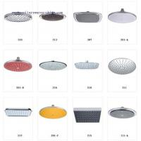 Buy cheap Round ABS Rainfall Shower Head Dus Basligi from wholesalers