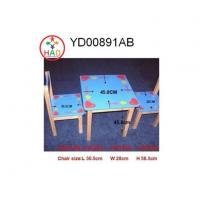 China HAO Kids Table&Chairs,Kids Desk Chairs,Wooden Table and Chairs for Childrens,Toddler,Girls on sale