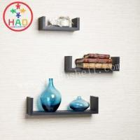China HAO Multifunctional Wall Shelf Ideas for Living Room Wall,Set of 3 U Shelving Units,Wooden Shelves on sale