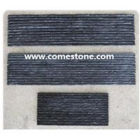 Buy cheap Culture Stone WP01 Black quartzite wall panel from wholesalers