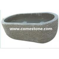Buy cheap TS01 Carved Black Bluestone Bath Tub Surround from wholesalers