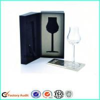 Two-piece Wine Glass Packaging Gift Boxes Manufactures